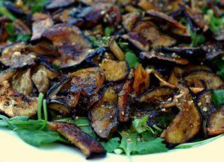 salade aubergine